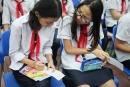 Đề thi học kì 1 lớp 8 môn Anh 2015 THCS Phan Châu Trinh