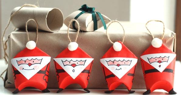 Cách làm ông già Noel handmade cực đẹp đón Giáng sinh