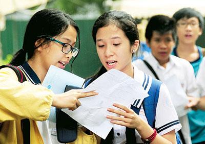 Chỉ tiêu tuyển sinh vào lớp 10 tỉnh Bà Rịa Vũng Tàu 2016