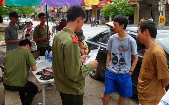 Thời gian đăng ký sơ tuyển công an năm 2016 tại Hà Nội
