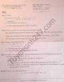 Đề thi thử vào lớp 10 môn Toán 2016 - trường THPT Hồng Hà