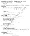 Đề thi học kì 2 lớp 7 môn Toán - THCS Châu Văn Liêm 2016