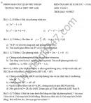 Đề thi học kì 2 lớp 9 môn Toán - THCS&THPT Việt Anh 2016