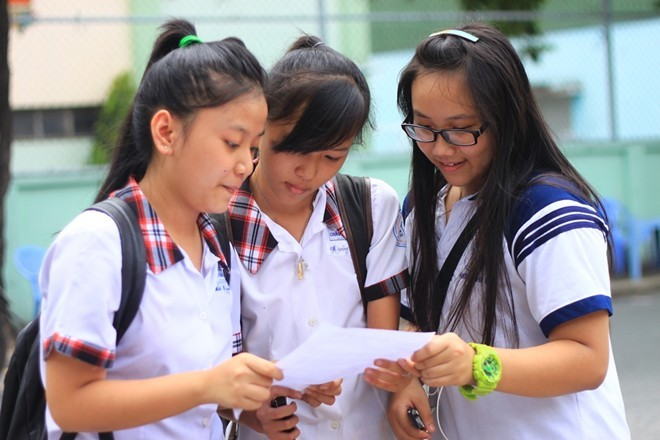 Thông tin tuyển sinh vào lớp 10 tỉnh Bình Định 2016