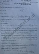 Đáp án đề thi vào lớp 10 môn Toán tỉnh Hải Dương 2016