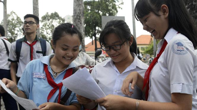 Hà Nội: điểm chuẩn vào lớp 10 2016 sẽ tăng ở các trường tốp giữa?