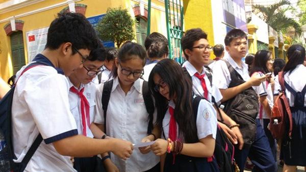 Thời gian công bố điểm chuẩn vào lớp 10 Hà Nội 2016