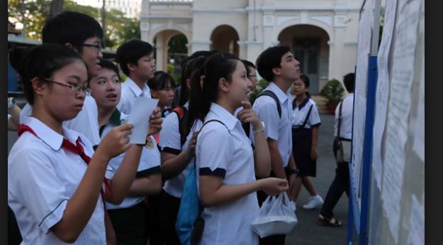Hồ Chí Minh đã hoàn tất chấm thi vào lớp 10 năm 2016