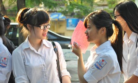 Điểm chuẩn vào lớp 10 THPT Nguyễn Tất Thành 2016