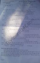 Đáp án đề thi vào lớp 10 môn Văn tỉnh Nam Định năm 2016