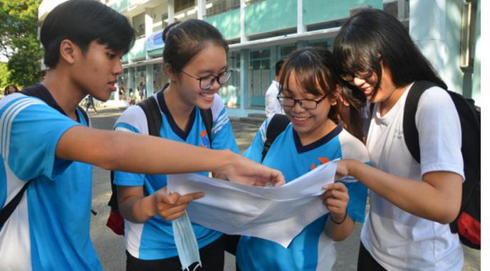 Đa số cụm thi đại học công bố điểm thi THPT quốc gia