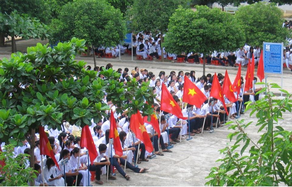 Bình Thuận công bố điểm chuẩn vào lớp 10 năm 2016