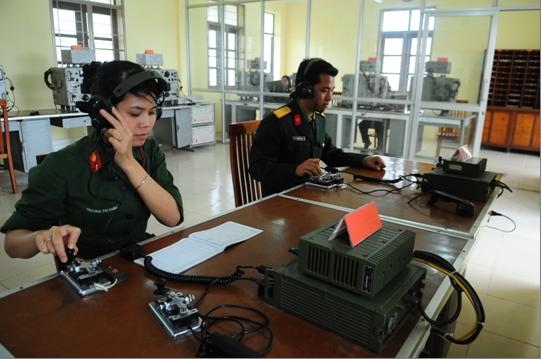 Đại học thông tin liên lạc công bố danh sách trúng tuyển vào hệ quân sự năm 2016