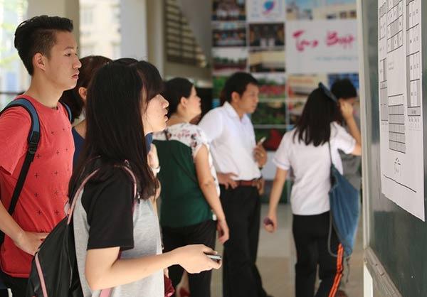 Xét tuyển NVBS Đại học Tài Nguyên và Môi trường TP.HCM năm 2016 đợt 1