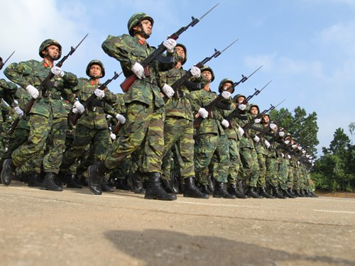 Chỉ tiêu xét tuyển NVBS đợt 1 trường Sĩ quan lục quân 1 năm 2016