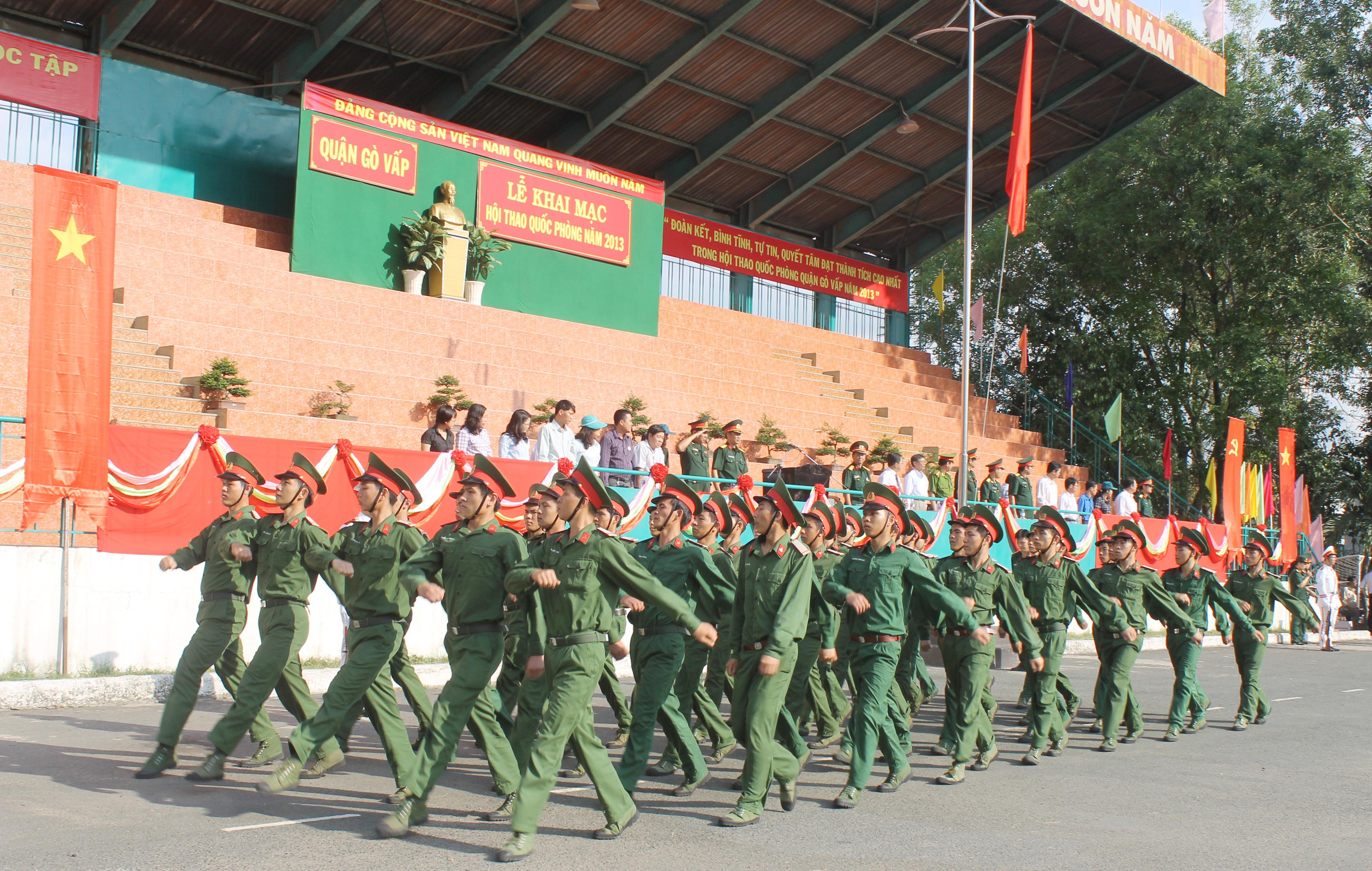 Danh sách trúng tuyển NVBS trường Sĩ quan kỹ thuật quân sự 2016