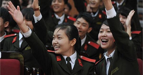 Điểm chuẩn Cao đẳng An ninh nhân dân 1 và CĐ ANND 2 năm 2016