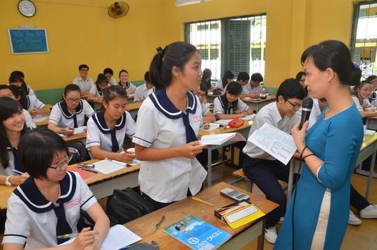 Các trường tích cực đổi mới dạy - học, chuẩn bị cho kỳ thi THPT quốc gia 2017