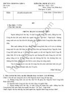 Đề thi giữa học kì 1 lớp 5 môn Tiếng Việt TH Đồng Kho I 2016