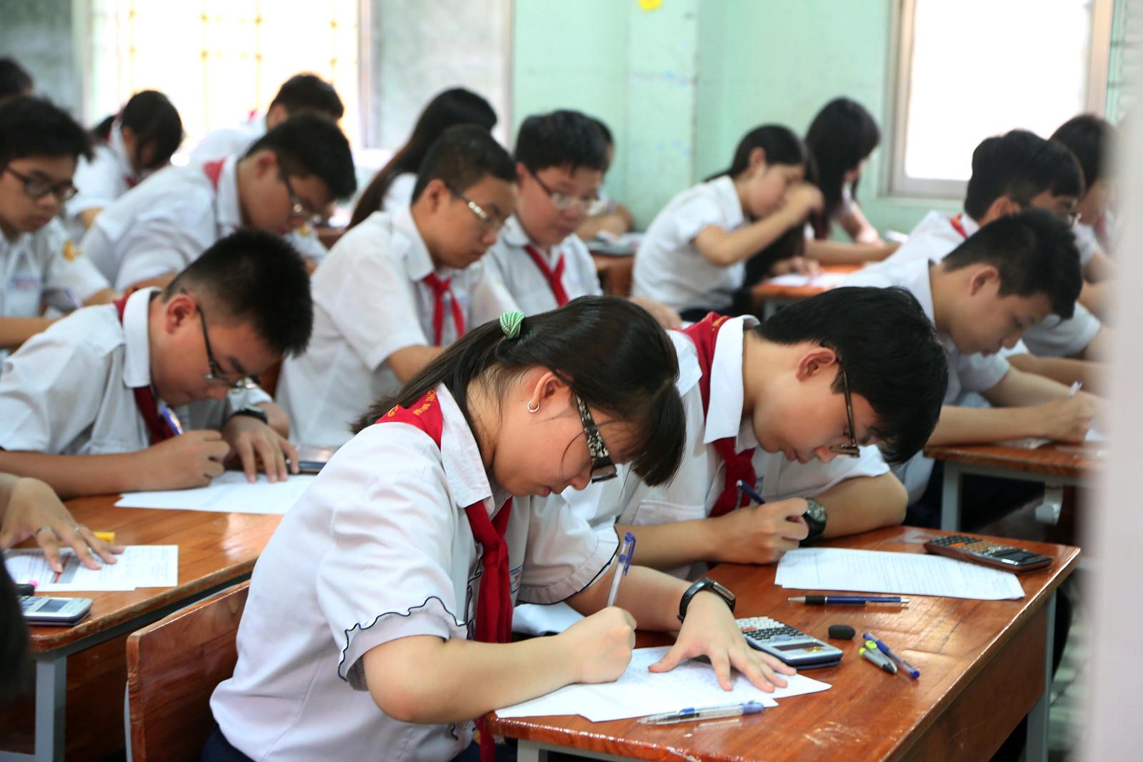 Lịch thi HK1 lớp 9 toàn tỉnh Thái Bình năm học 2016 - 2017
