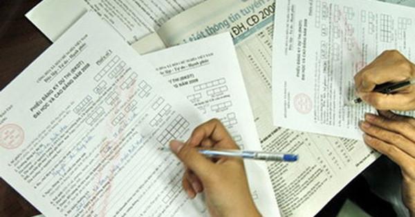Hồ sơ đăng kí dự thi THPT Quốc gia 2017 cần những gì?