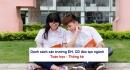 DS các trường ĐH, CĐ đào tạo ngành Toán học - Thống kê