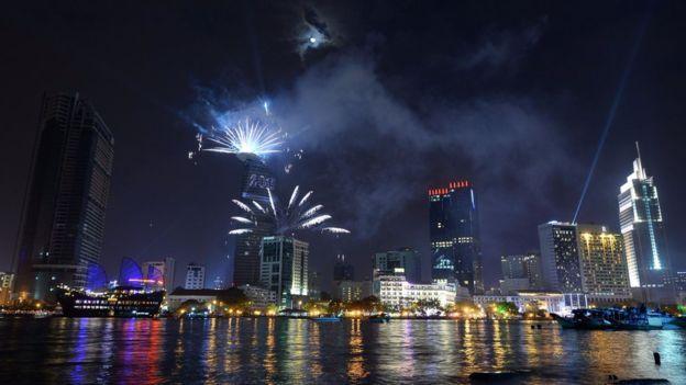 TPHCM không bắn pháo hoa dịp Tết dương lịch 2017