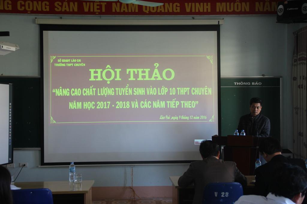 Nang cao hieu qua tuyen sinh lop 10 THPT chuyen Lao Cai  2017-2018