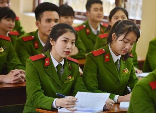 Các trường Công an, Quân sự sẽ không tuyển Cao đẳng và TCCN năm 2017