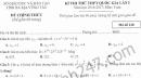 Đề thi thử môn Toán THPT Quốc gia 2017 - Sở GD Bà Rịa Vũng Tàu