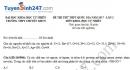 Đề thi thử THPT Quốc gia 2017 môn Hóa - THPT Chuyên KHTN lần 2