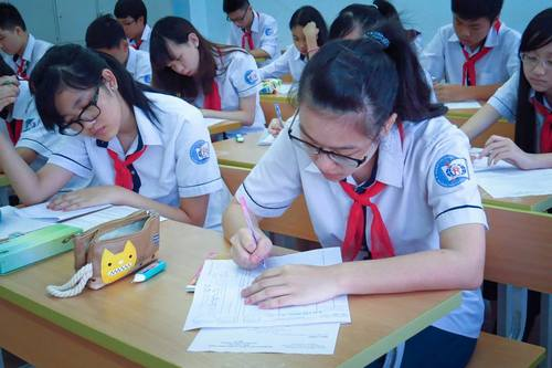 Tuyển sinh vào lớp 10 - THPT Khoa học Giáo dục - ĐH Quốc gia Hà Nội 2017