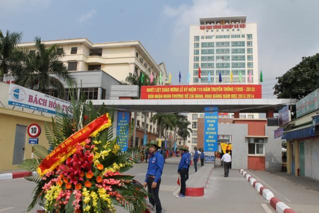 Đại học Công nghiệp Hà Nội công bố phương án tuyển sinh dự kiến 2017