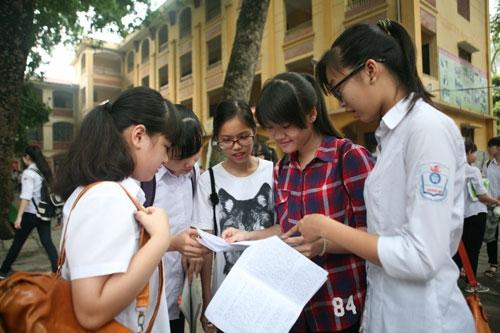 Lịch thi vào lớp 10 Hà Nội năm học 2017-2018