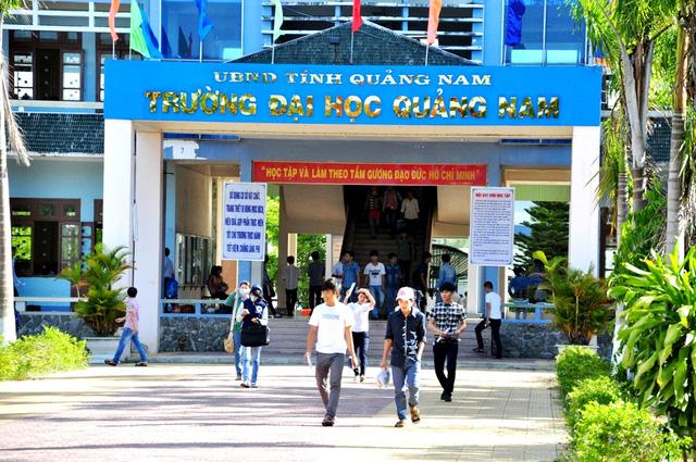 ĐH Quảng Nam công bố phương án tuyển sinh 2017