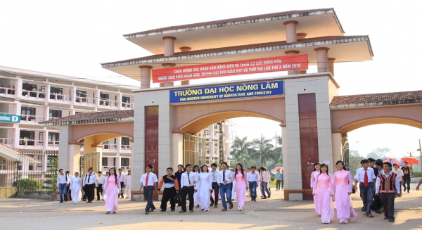 Đại học Nông lâm - ĐH Thái Nguyên công bố phương án tuyển sinh 2017