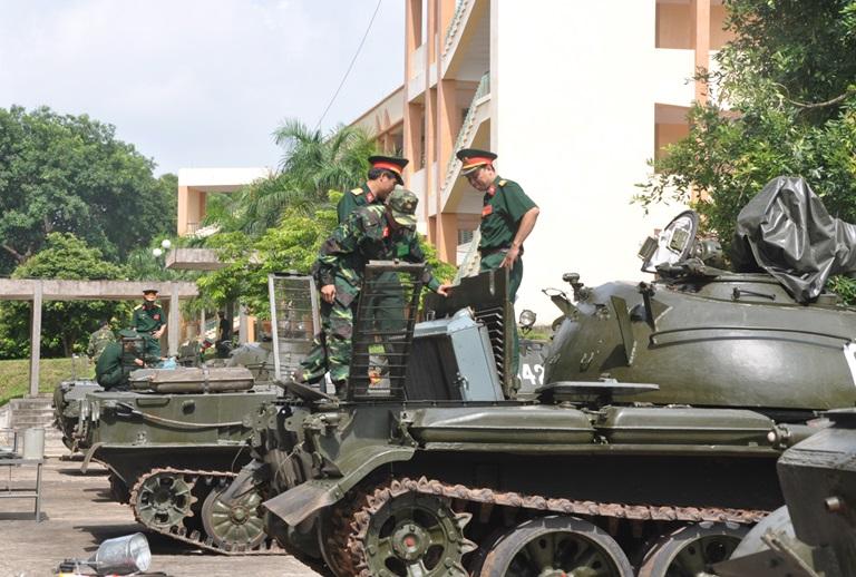 Trường Sĩ quan Tăng thiết giáp công bố phương án tuyển sinh 2017