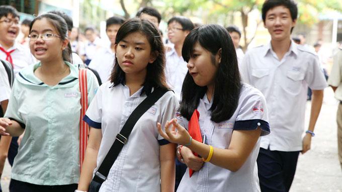 Tuyen sinh lop 10 HCM 2017- Hoc sinh co 3 nguyen vong