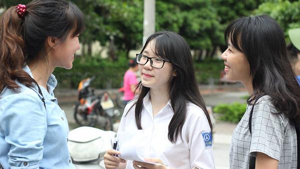 Đáp án đề thi thử THPTQG môn Toán, Văn Sở GD Hà Nội 2017