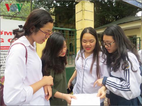 Khi nào Hà Nội công bố điểm thi thử kỳ thi THPT Quốc gia năm 2017?