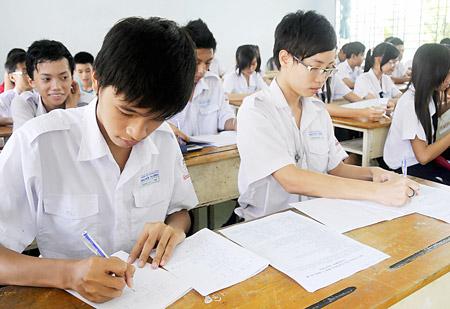 Phương án tuyển sinh vào lớp 10 tỉnh Kiên Giang 2017