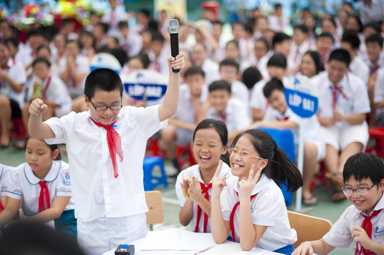 Đề thi học kì 2 lớp 1 môn Tiếng Việt trường TH Thủy Phù năm 2017