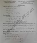 Đề thi học kì 2 lớp 8 môn Toán - THCS Nguyễn Khuyến 2017