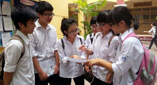 Hà Nội công bố số liệu học sinh đăng ký vào lớp 10 năm 2017