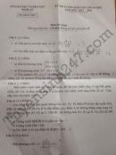 Đáp án đề thi vào lớp 10 môn Toán tỉnh Nghệ An 2017