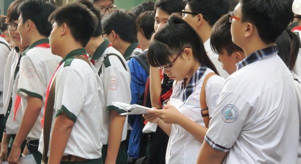 Hơn 33.000 học sinh có điểm môn Toán dưới 5 thi vào lớp 10 HCM