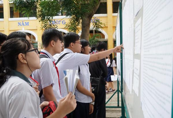 Khi nào công bố điểm chuẩn vào lớp 10 Hà Nội 2017