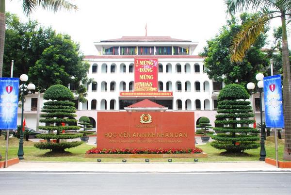 Học viện An ninh nhân dân tuyển sinh bổ sung đợt 1 năm 2017