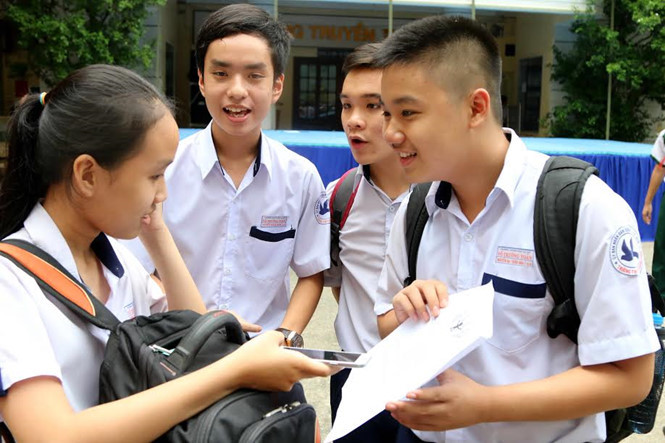 Đề thi vào lớp 10 HCM 2018 sẽ tích hợp kiến thức các môn