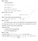 Đề kiểm tra 8 tuần học kì 1 lớp 8 môn Toán THCS Nguyễn Du 2017